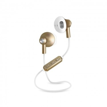 Casti SBS TESLEARSHYNYBT Shiny Wireless, gold