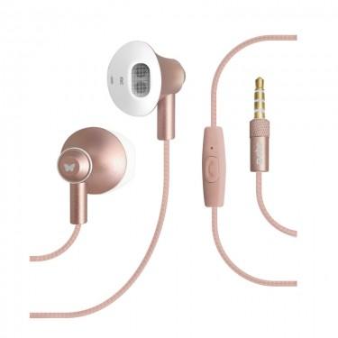 Casti Shiny Stereo SBS TESLEARSHINYP, pink