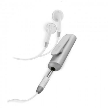 Casti stereo cu receiver wireless SBS TEBTRECEIVERW, white