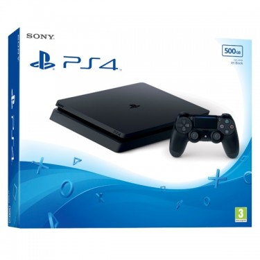 Consola Sony PlayStation 4 500GB, Black