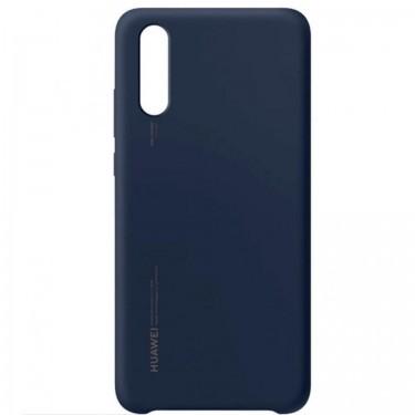 Husa de protectie Huawei deep blue pt Huawei P20