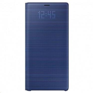 Husa Samsung Led View Cover blue pt Samsung Galaxy Note 9 EF-NN960PLEGWW