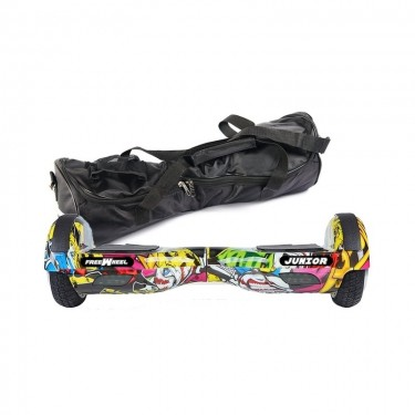 Scooter electric (hoverboard) Freewheel Junior - Graffiti