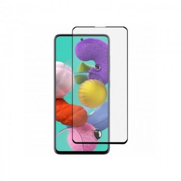Folie protectie ecran MyScreen Full Cover pt Samsung Galaxy A51, black