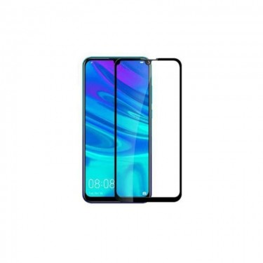 Folie protectie ecran OkMore Tempered Glass Full Size Full Glue black pt Huawei Y7 (2019)