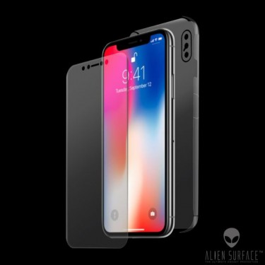 Folie protectie full body Alien Surface pt iPhone X
