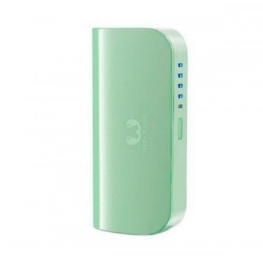 Baterie externa Fresh 'n Rebel Green 5200 mAh