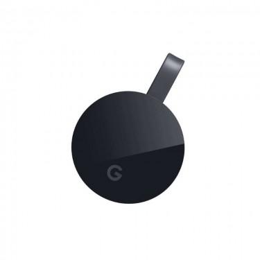 Google Chromecast 4K HDMI Streaming Media Player, black
