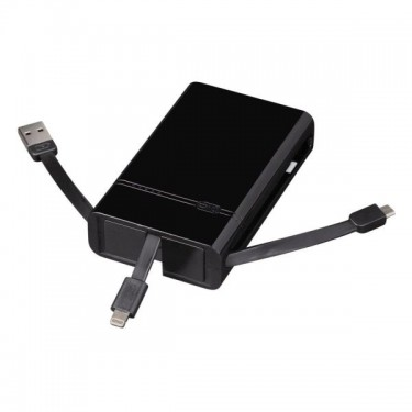 Baterie externa Hama 6000 mAh USB/Lightning/MicroUSB