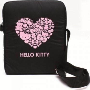 Geanta Hello Kitty hkta7p5bl black pt tableta 7""