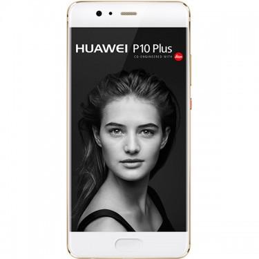 Smartphone Huawei P10 Plus Dual SIM 4G 5.5inch Octa-Core 128GB prestige gold Resigilat