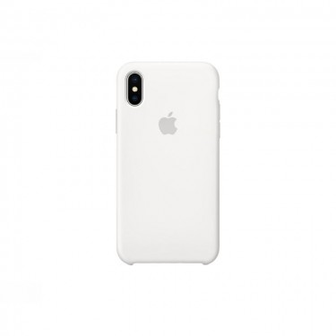 Husa Apple Silicon pt Iphone X MGT22ZM-A, white