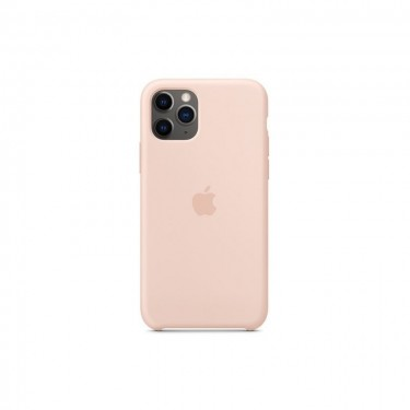 Husa protectie spate Apple silicon MWYM2ZMA pt iPhone 11 Pro, pink sand