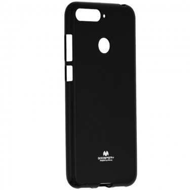 Husa protectie spate Goosperry silicon jelly soft black pt Huawei Y6 (2018)