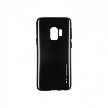 Husa protectie spate Goospery silicon jelly soft black pt Samsung Galaxy A6 (2018)