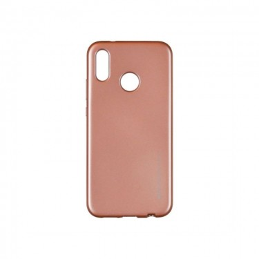 Husa protectie spate Goospery silicon jelly soft pt Huawei P20 Lite, rose gold