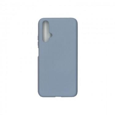 Husa protectie spate Liquid Silicon pt Huawei nova 5T, blue