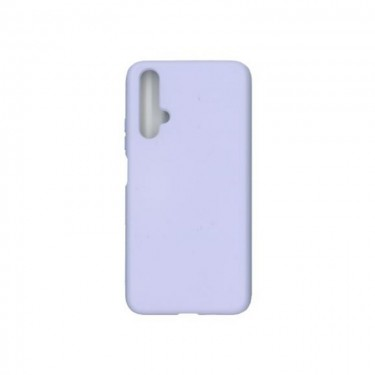 Husa protectie spate Liquid Silicon pt Huawei nova 5T, purple