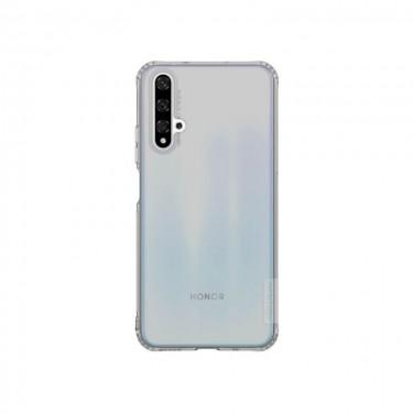 Husa protectie spate Nillkin Nature Silicon pt Huawei nova 5T, grey