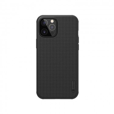 Husa protectie spate Nillkin Super Frosted Shield Matte pt Apple iPhone 12 Pro Max, black