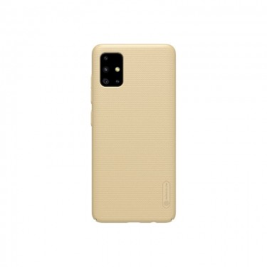 Husa protectie spate Nillkin Super Frosted Shield Matte pt Samsung Galaxy A51, gold