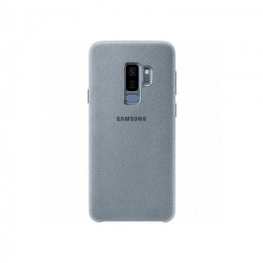 Husa protectie spate Samsung Alcantara pt Galaxy S9+, mint