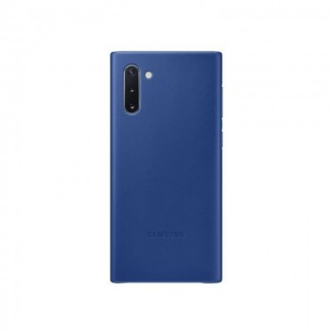 Husa protectie spate Samsung Leather Cover pt Galaxy Note 10, blue