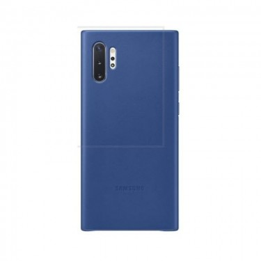 Husa protectie spate Samsung Leather Cover pt Galaxy Note 10+, blue
