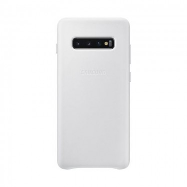 Husa protectie spate Samsung Leather Cover pt Samsung Galaxy S10