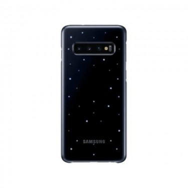 Husa protectie spate Samsung Led Cover black pt Samsung Galaxy S10