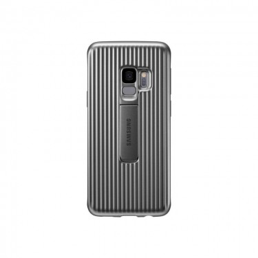 Husa protectie spate Samsung Protective Standing Cover pt Galaxy S9+, silver