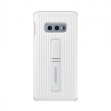 Husa protectie spate Samsung Protective Standing cover white pt Samsung Galaxy S10e