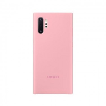 Husa protectie spate Samsung Silicone Cover pt Galaxy Note 10+, pink
