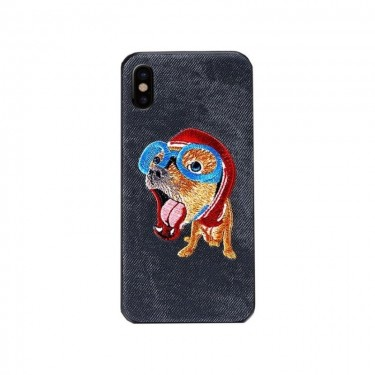 Husa protectie spate WK Design Pet black pt iPhone 78