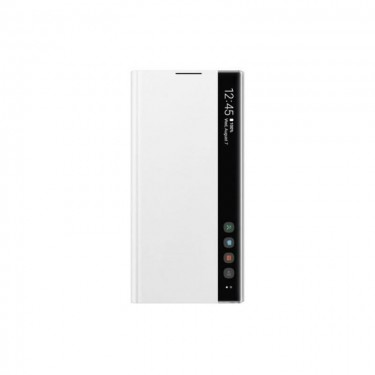 Husa Samsung Clear View Cover white pt Galaxy Note 10+