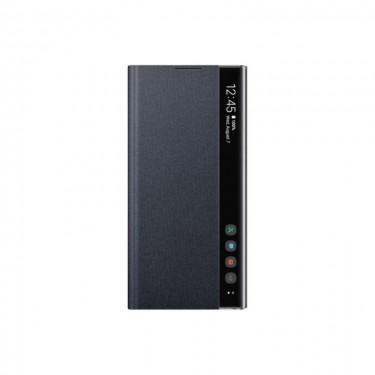 Husa Samsung Clear View EF-ZN975CBEGWW pt Galaxy Note 10+, black