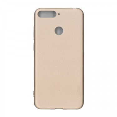 Husa protectie spate X-Level Guardian gold pt Huawei Y6 (2018)