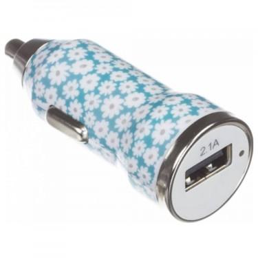 Incarcator auto USB Trendz Bullet 2100mAh Ditsy Floral
