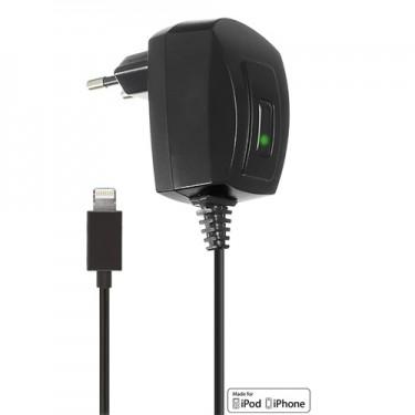 Incarcator retea kit 1000mAh black lightning pt Apple iPhone 5/6