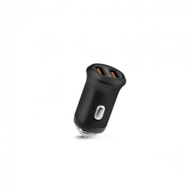 Incarcator auto Fonex dual USB 2100 mAh, black