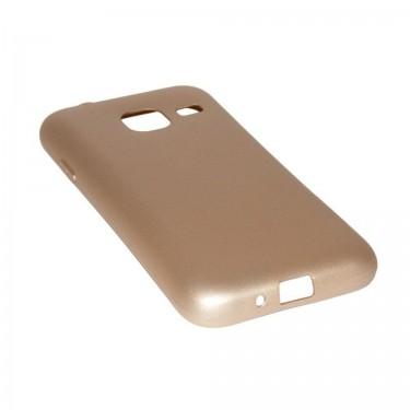 Husa de protectie X-Level Metallic gold pt Samsung Galaxy J1 MIni