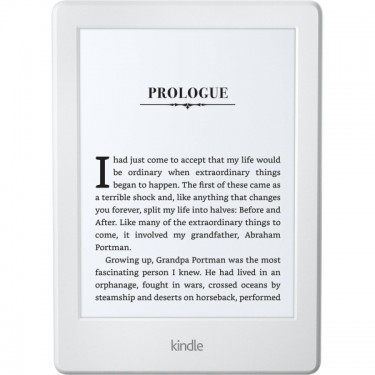 "eBook Reader Kindle Glare Free Gen 8, WiFi, Touch Screen 6.0"" white"