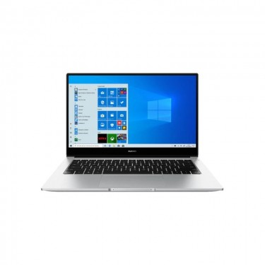 Laptop Huawei MateBook D 14, AMD Ryzen 5-3500U pana la 3.7GHz, 14inch Full HD, 8GB, SSD 512GB, AMD Radeon Vega 8 Graphics, Windows 10 Home, silver