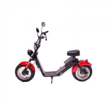 Moped Electric FreeWheel MotoRo S1 Red - 1200 W