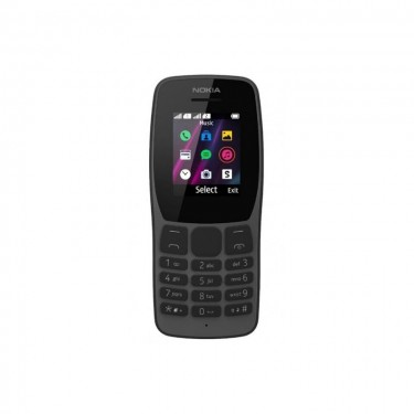Nokia 110 (2019) Dual SIM 2G, black