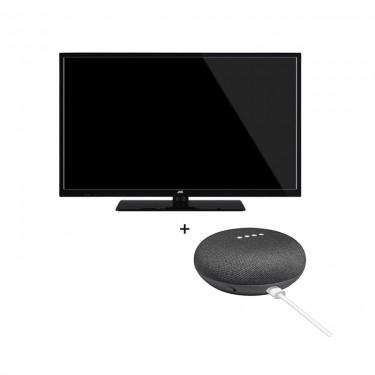 Pachet TV JVC + Google Home Mini