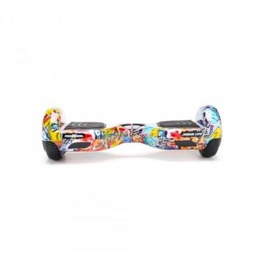 Scooter Electric (Hoverboard) Freewheel Junior Lite - Graffiti, blue