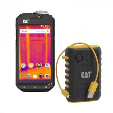 Smartphone Dual Sim Caterpillar CAT S60 LTE + baterie externa rezistenta