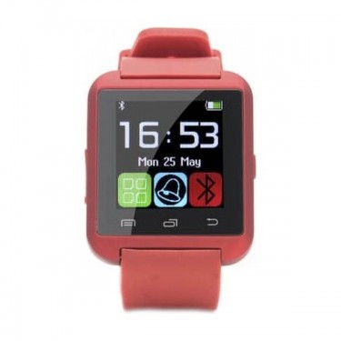 Smartwatch E-Boda Smart Time 100 Summer Edition, red
