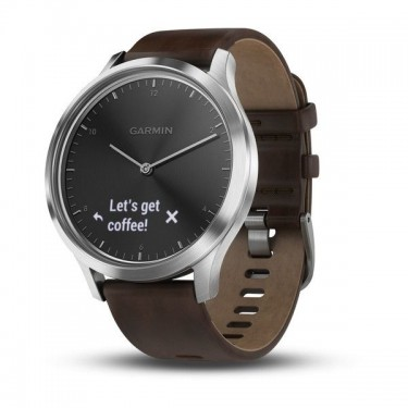 Smartwatch Garmin Vivomove HR Premium Black-Silver, Large